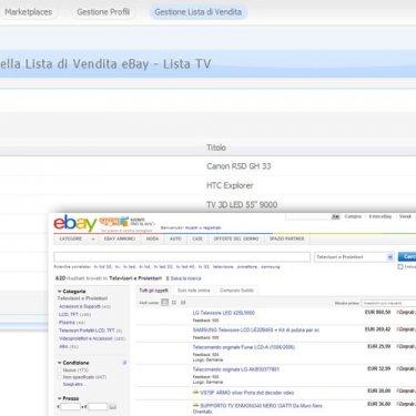 Integrazione con Ebay per pubblicazione articoli presenti su Passweb