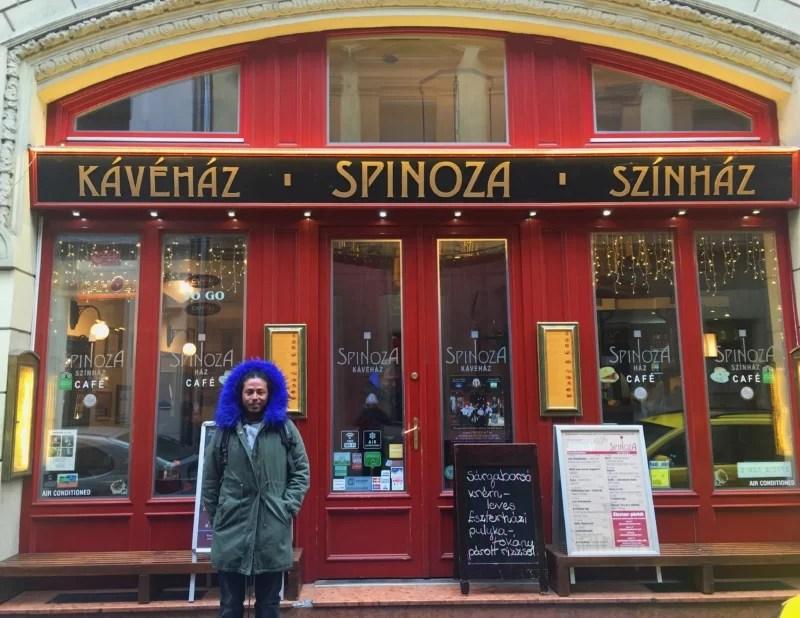 Spinoza Cafe, Budapest, Hungary