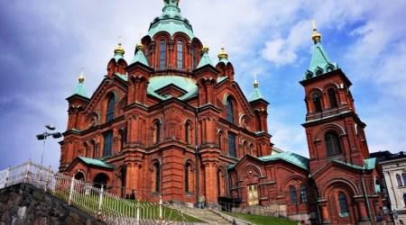 Helsinki, Finland Cathedral Uspenski