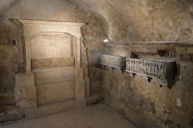 Celebrating Heritage Days in Marseille, France: Crypt