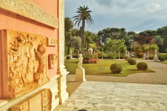 Villa and garden, Rothschild Villa, Nice, France