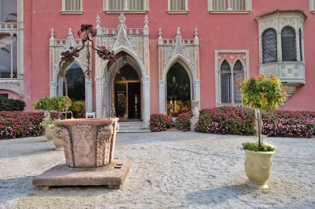 Front view of villa, Rothschild Villa, Nice, France