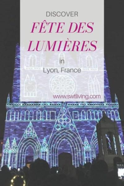 Discover la fête des lumières in Lyon, France