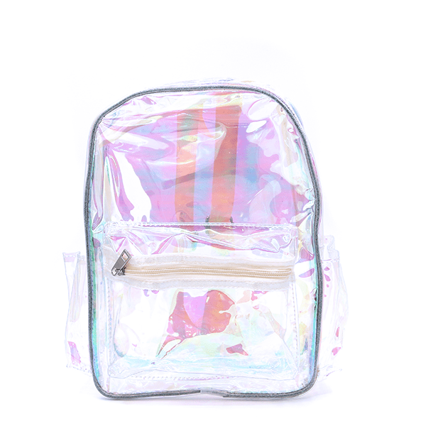 Backpack UBP7970A Iridescent Transparent Clear Yellow  SWTrading