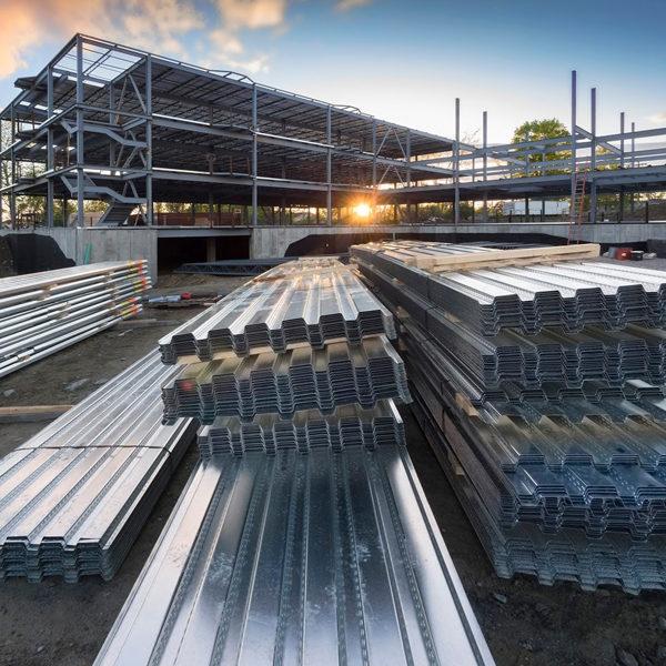 Steel Decking 600x600px