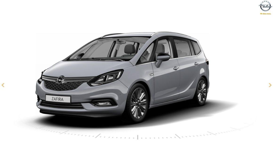 Meet The Facelifted 2017 Opel / Vauxhall Zafira Tourer