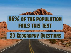 Only 4% Of The Population Can Pass This Geography Test  –  Challenge your children!