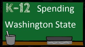 Washington State K-12 spending – different views