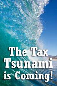 Washington State Tax Tsunami – Updated October 29th
