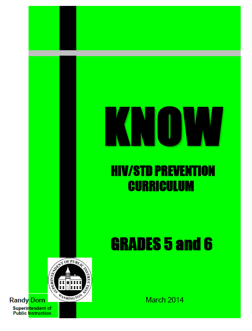 HIV and Sexual Health – KNOW Curriculum – Grades 5/6