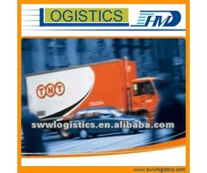 TNT międzynarodowe przesyłki ekspresowe z Chin do Indii w Bombaju