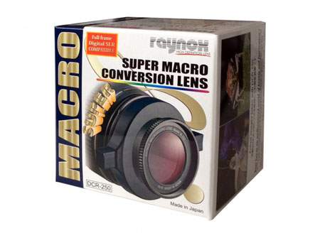 Raynox DCR-250 Super Macro Lens