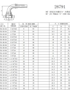 Payment term      aavailable for jic hydraulic fittings also size chart rh sxfitting