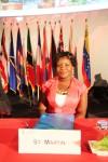 Adriana Sylvestre, St-Martin Junior Minister of Tourism
