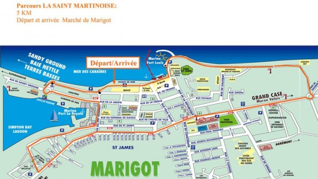 Parcours La Saint Martinoise 2