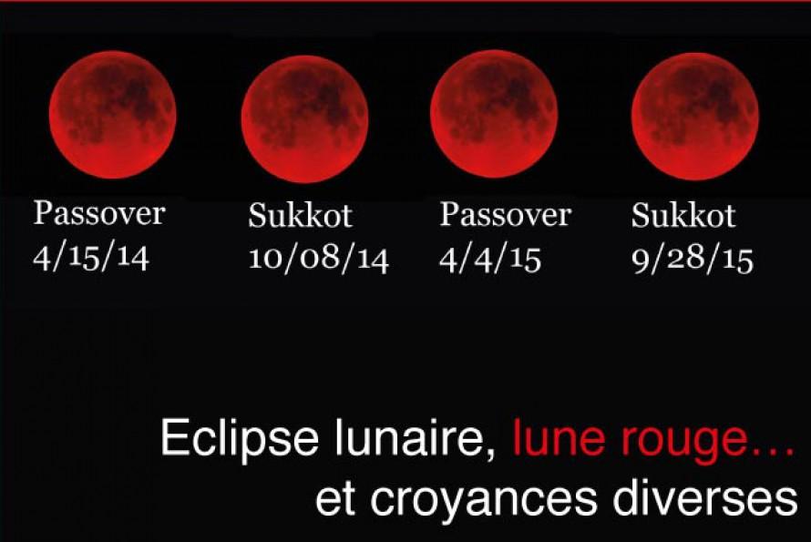 Esotérisme. Eclipses, lunes rouges et croyances diverses