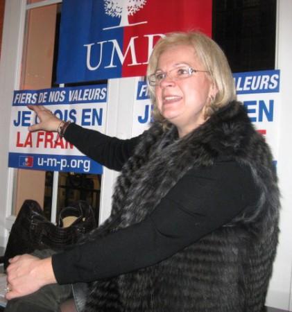 Catherine Vautrin, députée de la Marne, trésorière de l'UMP