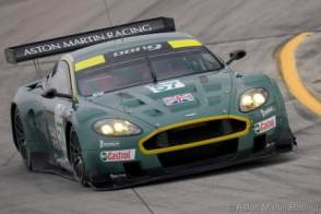 12 Hours of Sebring, March 19, 2005, Aston Martin Racing DBR9 #57, driven by David Brabham, Darren Turner, and Stephane Ortelli. ©2005 Richard Prince. All rights reserved. Please photo credit: ©2005 Richard Prince/Aston Martin Racing.