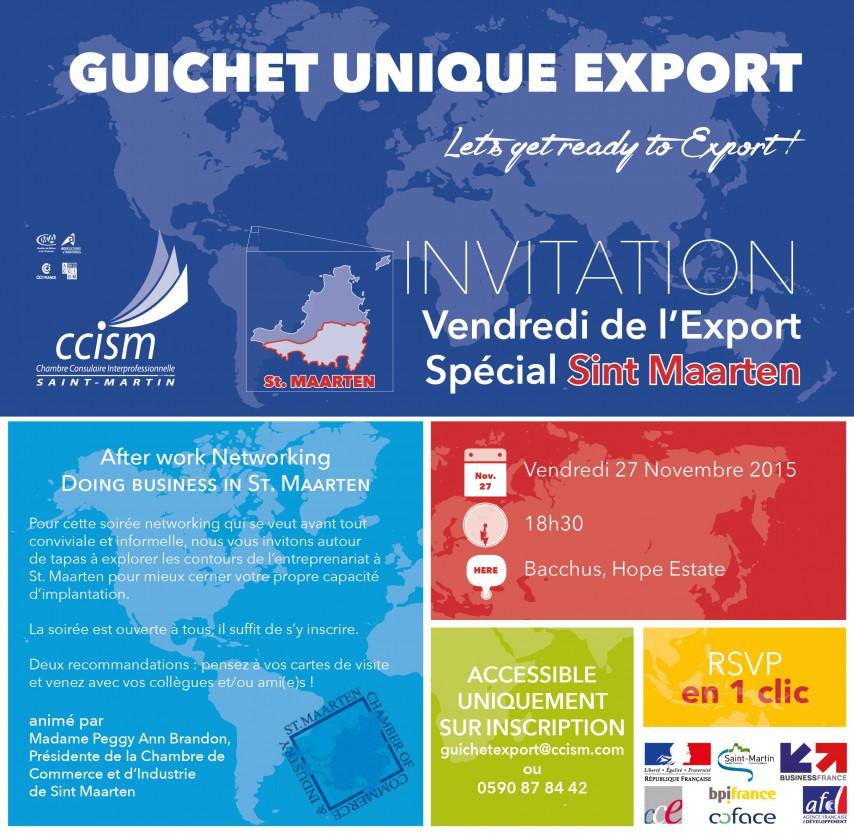 FB Vendredi Export St. Maarten