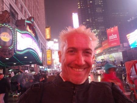 Arrivée de David à NewYork le 1er Janvier 2016