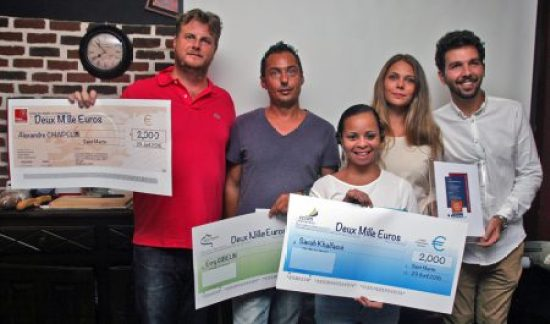 Initiative Saint-Martin Active recom pense les porteurs de projet - 2