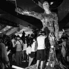 Umbrella Man - Admiralty