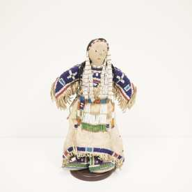 Beaded doll, Sioux, ca. 1880, Private Collection