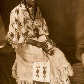 "Edward S. Curtis, Sioux Girl, 1907, photogravure, 15 x 12"""