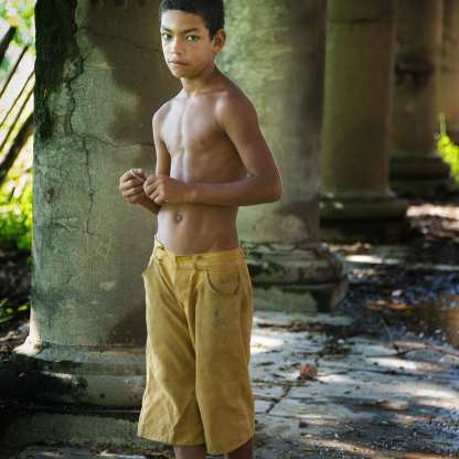 Young Boy at Ruins, French Plantation, Guantanamo ©Chip Cooper
