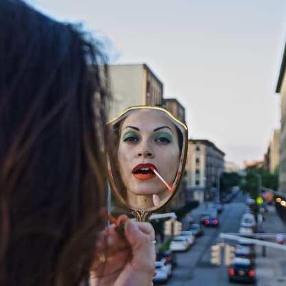 Grandma's Mirror (Jennifer) 2019, The Bronx, NYC