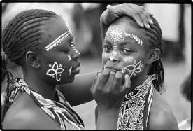 She who spends time adorning herself knows she is going to dance. Kenyan Proverb ©Betty Press