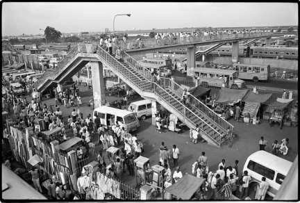 Life is a walk on a dangerous bridge. African proverb ©Betty Press