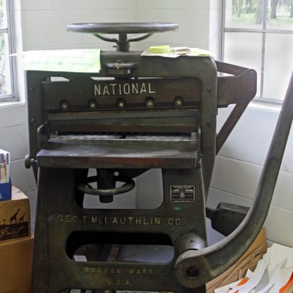National printing press ©Marla Puziss