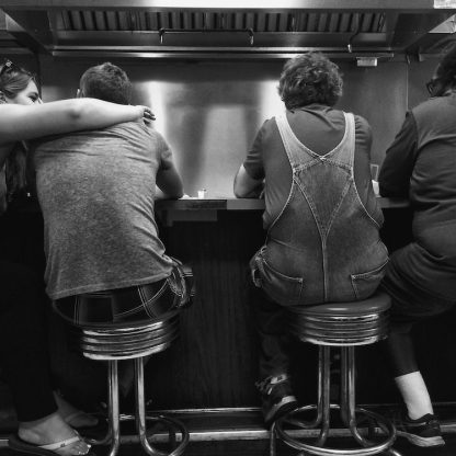 Diner Friends ©Sandra Jetton