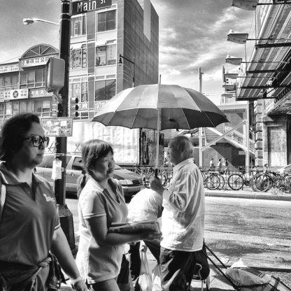 Man with Umbrella ©Sandra Jetton