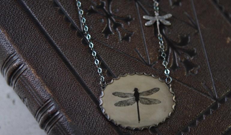 Silver Dragonfly | Angie Brockey : Objets d'Art
