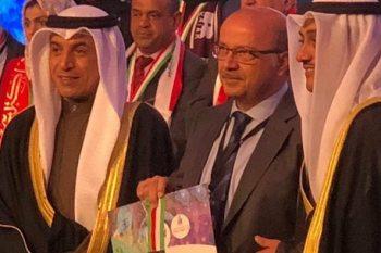 """المخترع السوري الطبيب """"محمد عماد الدروبي""""، يحصل على الميدالية الذهبية"""