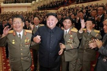 كيم جون أون رئيس كوريا الشمالية
