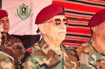 """اللواء الركن """"محمد طارق الخضراء"""" رئيس هيئة أركان """"جيش التحرير"""" الفلسطيني في سوريا"""