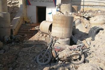"""أدانت منظمة """"أطباء بلا حدود"""" يوم أمس القصف الجوي الذي استهدف مشفى تدعمه في مدينة سراقب"""