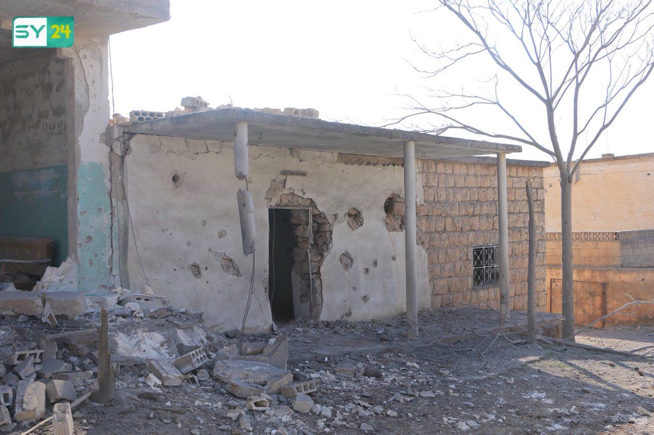قتلى وجرحى بقصف روسي على بلدة في إدلب
