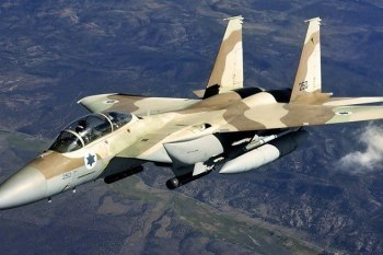 طائرات إسرائيلية شنت غارات جوية على مواقع جديدة تابعة للنظام السوري في مدينة دمشق
