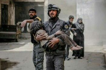 الدفاع المدني يواجه العديد من الصعوبات خلال عمله في الغوطة الشرقية