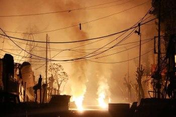 الحصيلة الأخيرة للقتلى بلغت 37 مدنياً أغلبهم نساء وأطفال نتيجة قصف روسي بقنابل النابالم والفوسفور الحارق