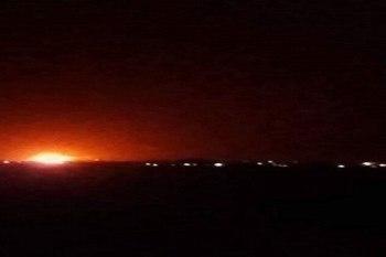 مصادر إعلامية: انفجارات عنيفة داخل مواقع إيرانية في حلب