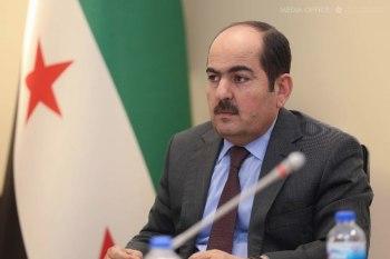 رئيس الائتلاف الوطني لقوى الثورة والمعارضة السورية عبد الرحمن مصطفى