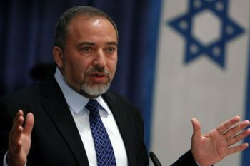 وزير الدفاع الإسرائيلي، أفيغدور ليبرمان،