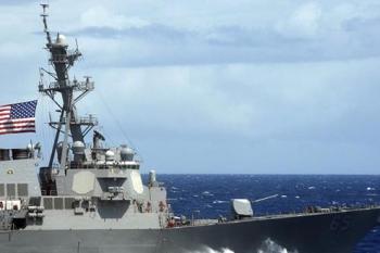 حشود عسكرية أمريكية بحراً