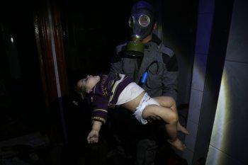 إعلام النظام: ضحايا الكيماوي في دوما تضليل إعلامي!
