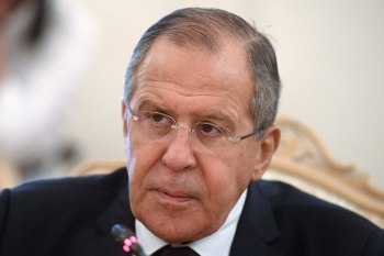 """وزير الخارجية الروسي """"سيرغي لافروف"""""""